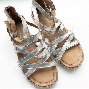 Hanna Anderson Vera Girl's Gladiator Sandal